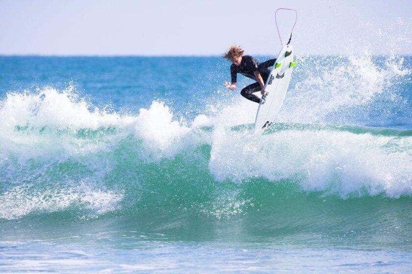 Pro surfer Taylor Clark
