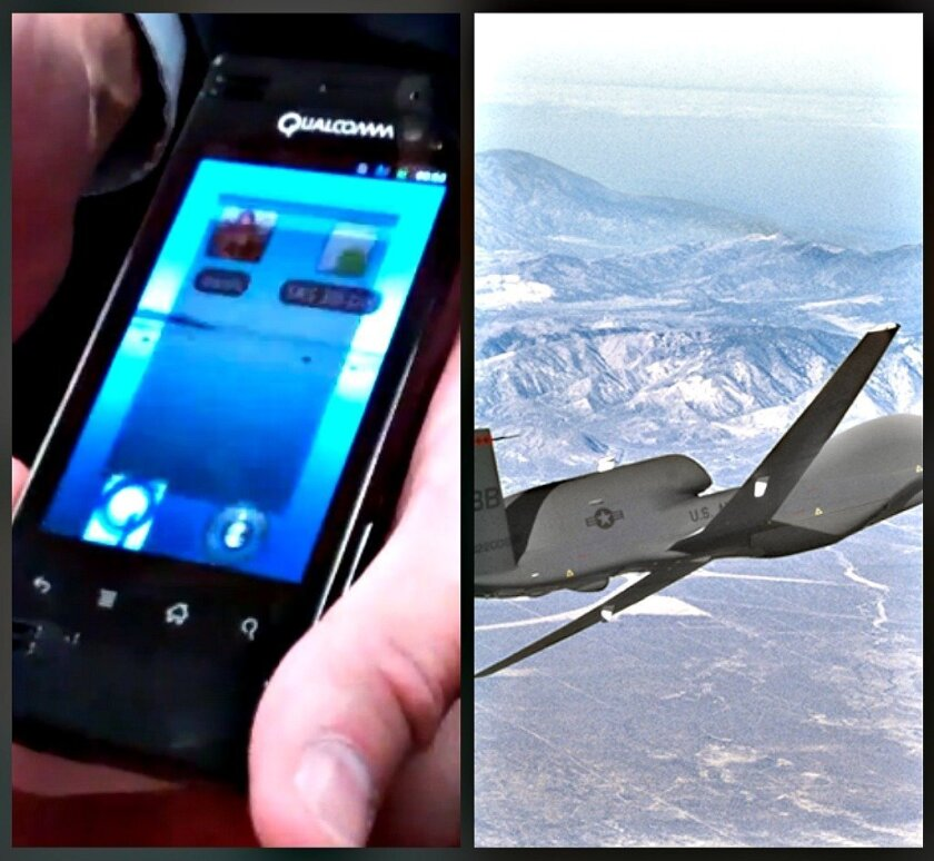 Cellphone technology and weapons systems continue to generate jobs in San Diego County.