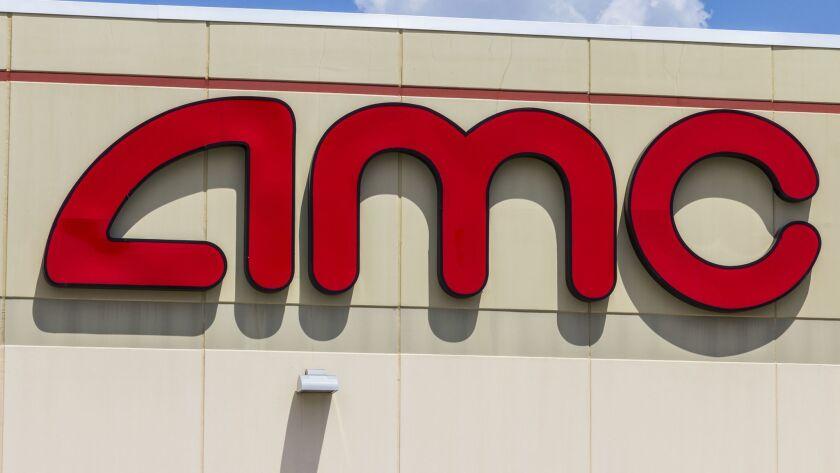AMC Theatres marquee.