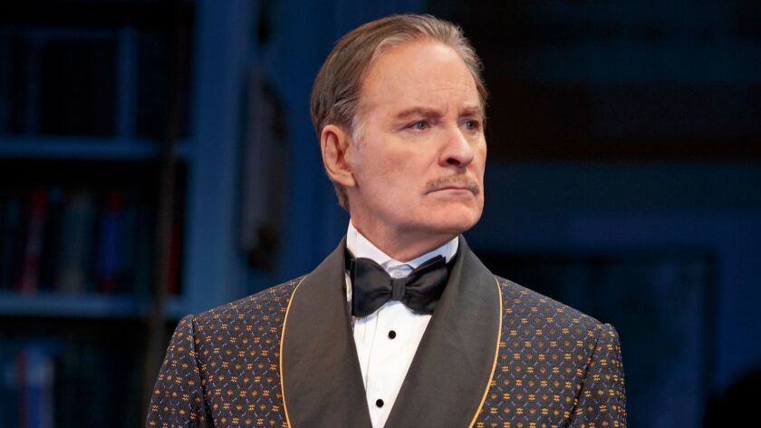 "Kevin Kline in ""Present Laughter."""