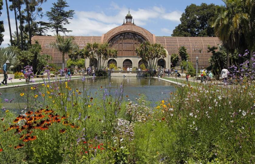 The Botanical Buildingat Balboa Park