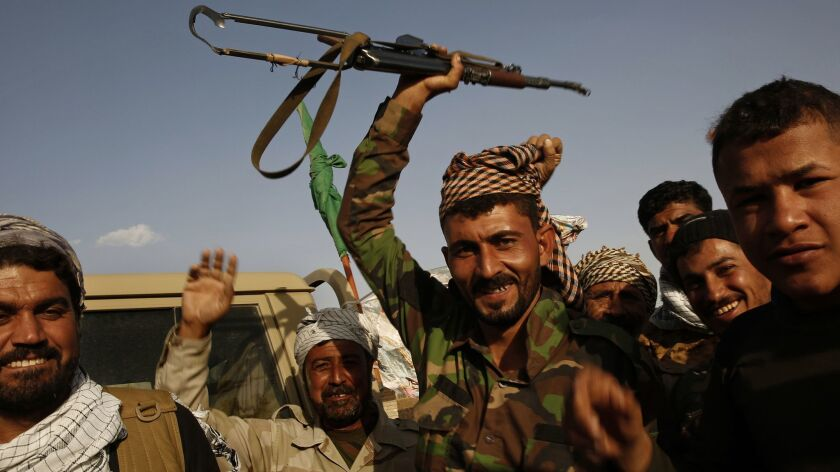 In Iraq, Iran-affiliated militias that helped rout Islamic