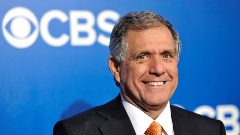 CBS Corp. Chief Executive Leslie Moonves last year received a pay package valued at $57 million, according to a CBS proxy filed with the Securities & Exchange Commission late Friday.