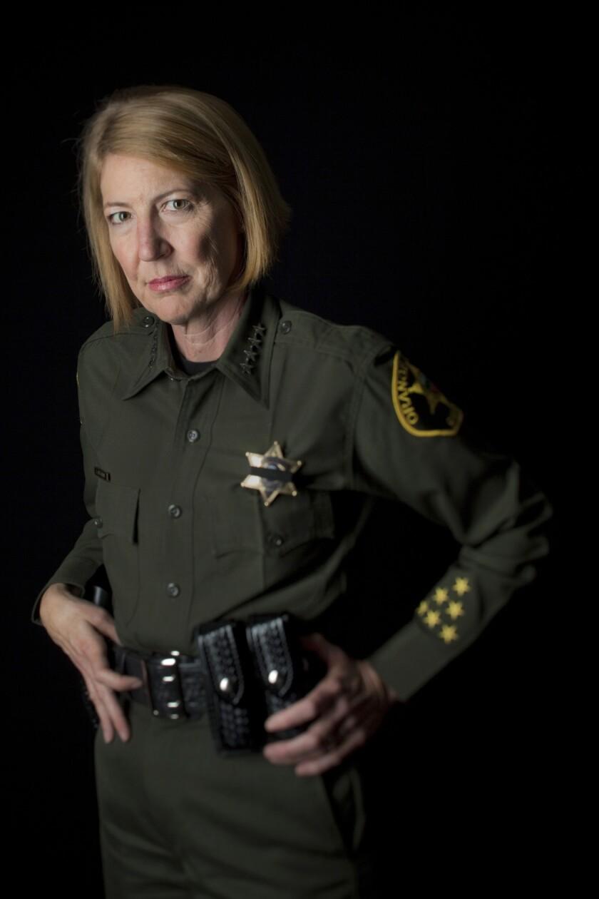 Orange County Sheriff Sandra Hutchens.