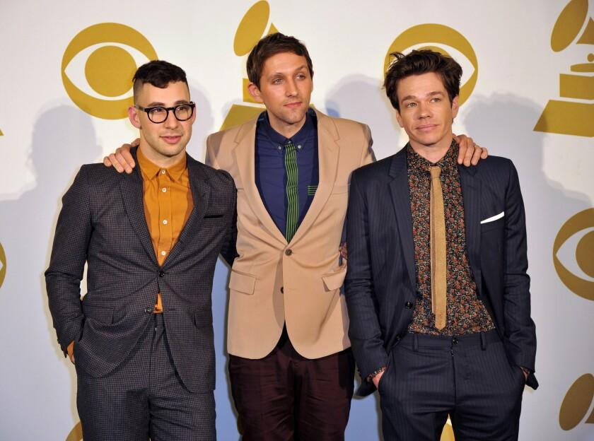 Grammys 2013: Fun. wins for best new artist