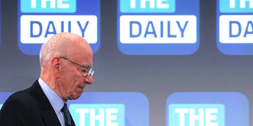 Rupert Murdoch pulls plug on 'the Daily,' first news app for iPad