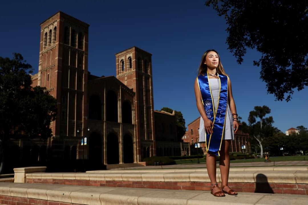 Christine Tran, UCLA senior