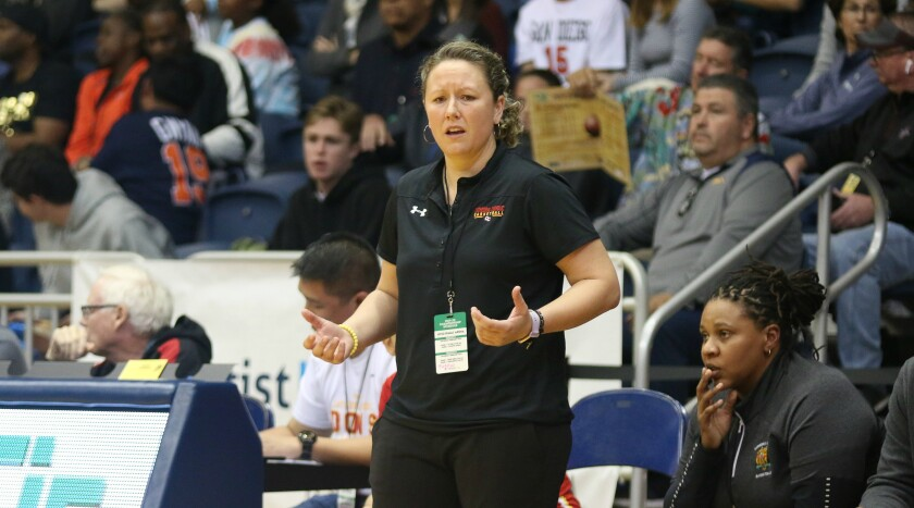 CC Head Coach Jackie Turpin had her team in the Open final for the second straight time.
