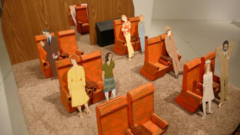 """'The Nurse & the Hijackers' by Eleanor Antin is part of the exhibit, """"Stories That We Tell: Art and Identity,"""" through March 3, 2018 at UC San Diego's University Art Gallery."""