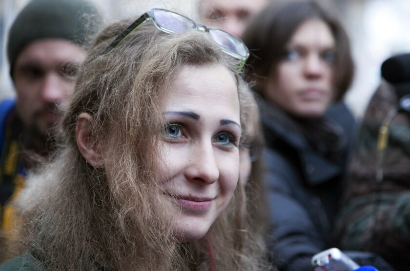 Pussy Riot members freed