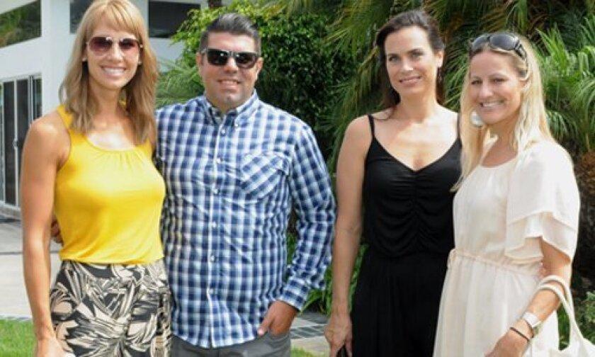 Caren and Jesse Kreger, Jennifer Minyard, Amy Amidon