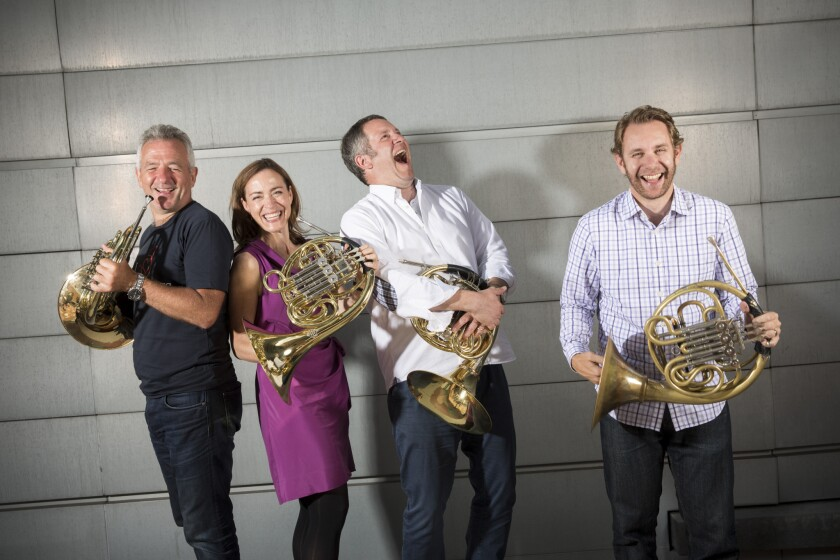 French horn musicians converge in L.A., where Hollywood meets classical
