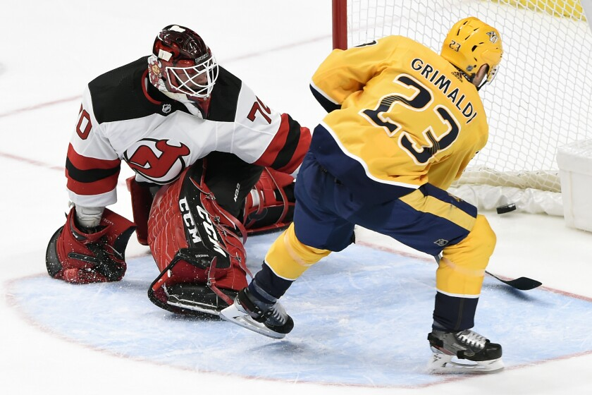 Devils Predators Hockey