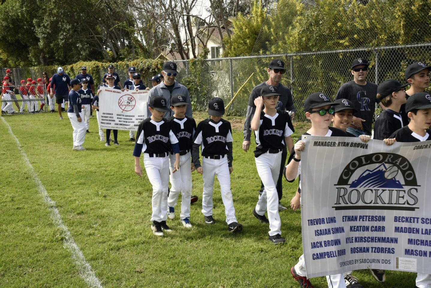Encinitas National Little League Opening Day