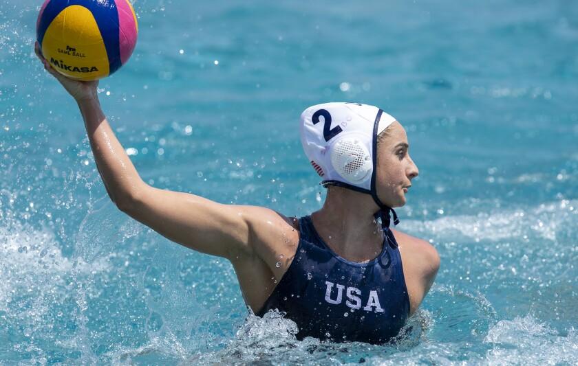 U.S. women's national water polo team's Maddie Musselman scored three goals in FINA World League Super Final title match.