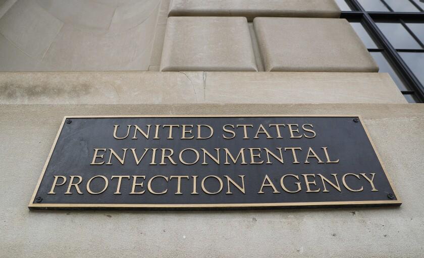 Environmental Protection Agency (EPA) building in Washington