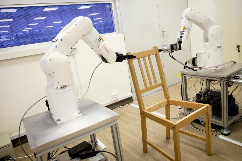 How to make a robot that will build your Ikea furniture