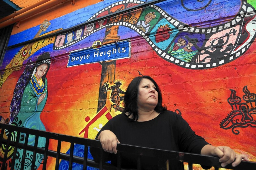 """Lifelong Boyle Heights resident Margarita Amador says of illegal construction, """"People do it all the time because they know the chances of any inspector coming are slim to none."""""""