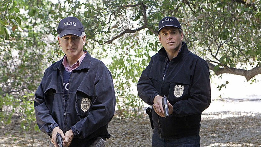 """More and more TV reviewers use their DVRs to watch popular shows, such as """"NCIS"""" (a scene from which is pictured here), days after the show was aired."""