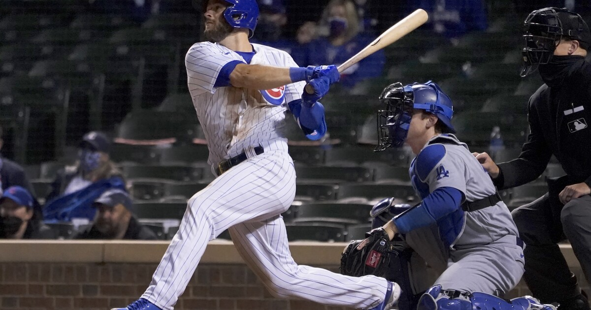 The Sports Report: Cubs sweep doubleheader from the Dodgers