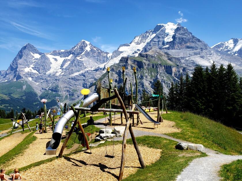 Allmendhubel playground slide.jpg
