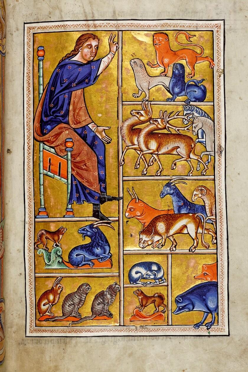 Aberdeen Bestiary -- Book of Beasts