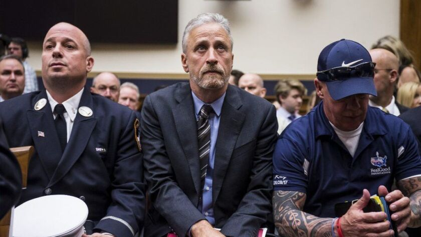 BESTPIX - Former Daily Show Host Jon Stewart Testifies On Need To Reauthorize The September 11th Victim Compensation Fund