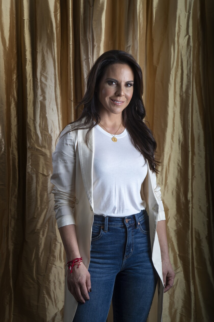 LOS ANGELES, CA - APRIL 3, 2019: Mexican actress Kate del Castillo is back with her second season in