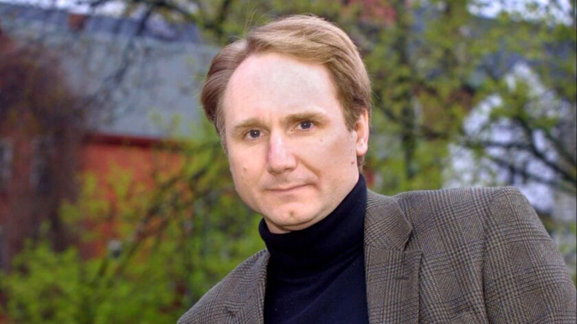 """Author Dan Brown in 2003 after the release of """"The Da Vinci Code."""""""