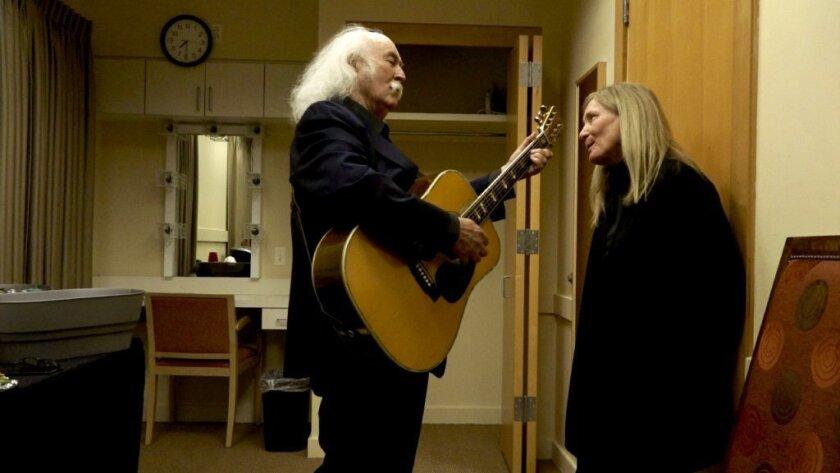 David Crosby and wife Jan Dance, 'David Crosby: Remember My Name'