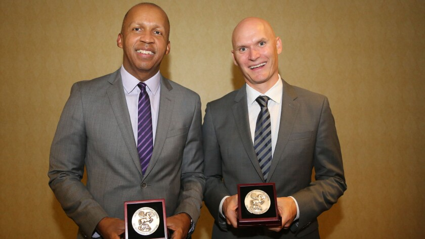 Bryan Stevenson and Anthony Doerr