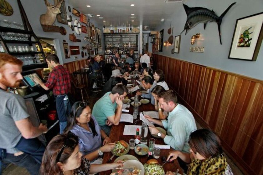 Small plates restaurants such as Son of a Gun have proved popular.