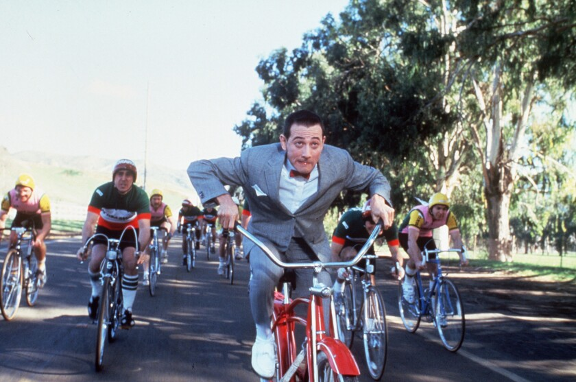 Pee Wee S Big Adventure Is An Oddly Comic Odyssey Los Angeles Times Mark holton was born on july 19, 1958 in oklahoma city, oklahoma, usa as mark douglas holton. pee wee s big adventure is an oddly
