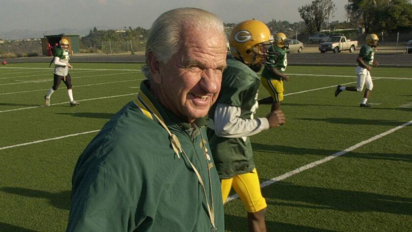 Dave Jordan, Grossmont College football coach