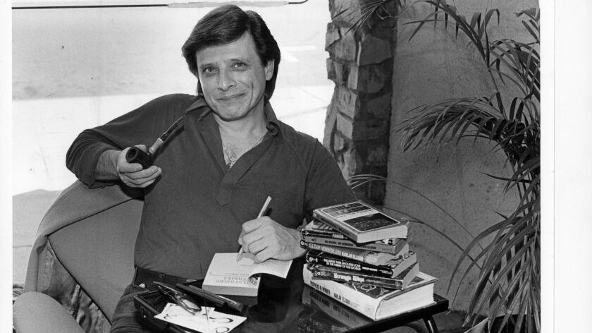 Writer Harlan Ellison in 1981. CREDIT: Marsha Traeger / Los Angeles Times