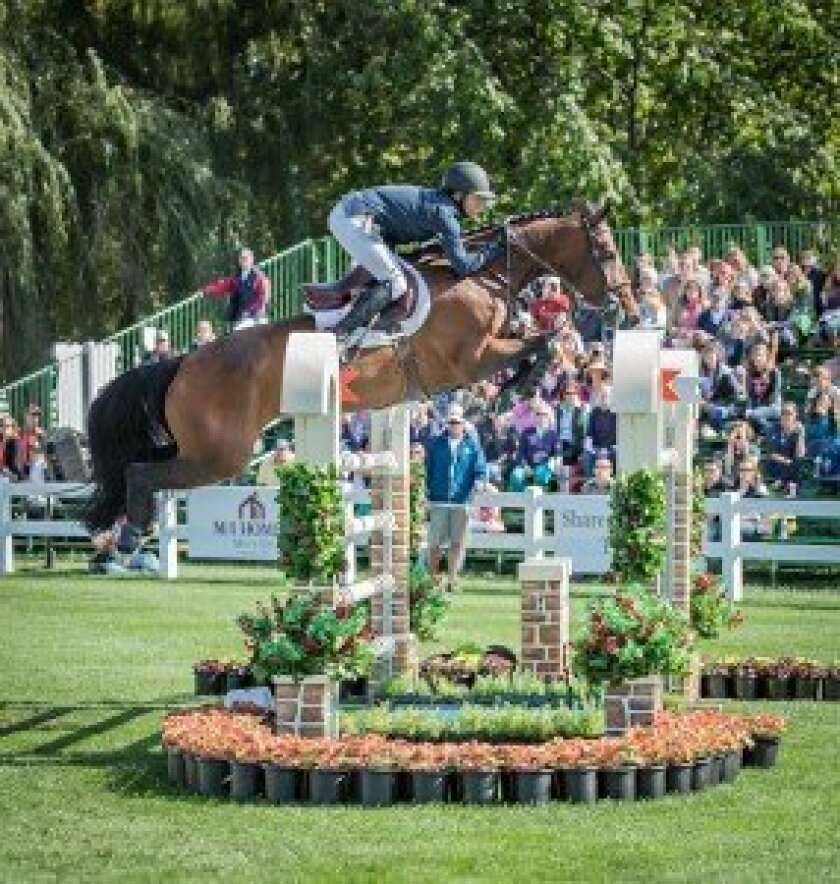 Kent Farrington and BLUE ANGEL. / Photo by Curtis Wallis