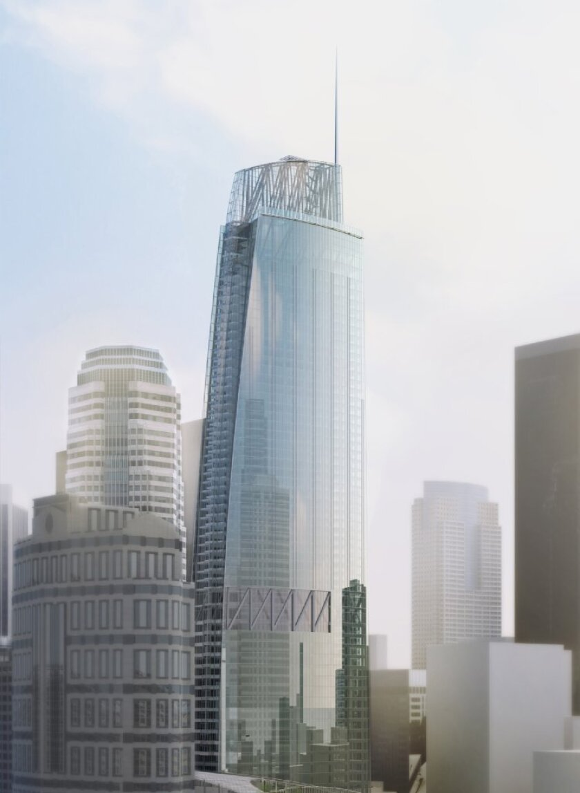 Tallest building in the West to be built in downtown L.A.
