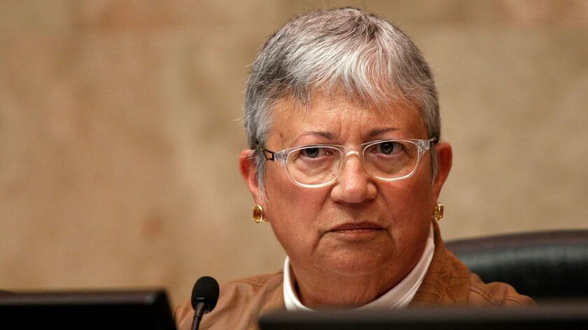 Mary Nichols, chair of the California Air Resources Board, fears the Supreme Court could take away the state's power to set its own emissions standards.