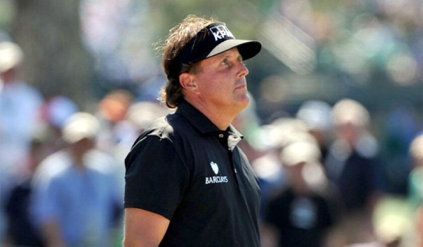 Phil Mickelson has an off day with a 76 at Masters