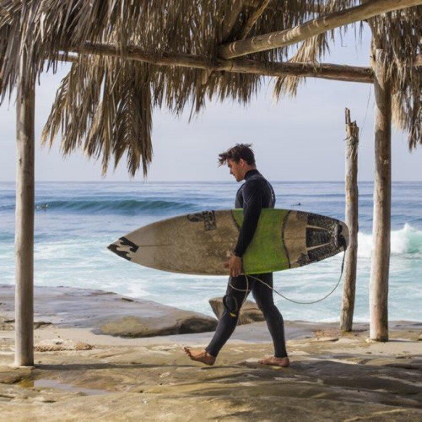 Jake Halstead at Windansea Beach in La Jolla