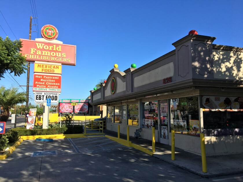 Tom's #1 World Famous Chili Burgers in Carson