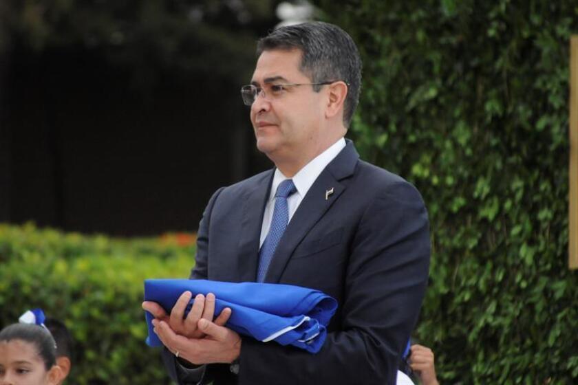 Las autoridades de Estados Unidos acusaron hoy a un hermano del presidente de Honduras, Juan Orlando Hernández, de participar en una conspiración para el tráfico de cocaína y de otros delitos. EFE/Archivo