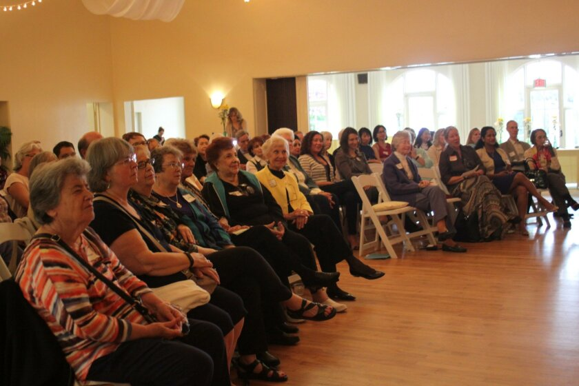 More than 50 people attend the May 11 Women in Leadership event with Doris Howell