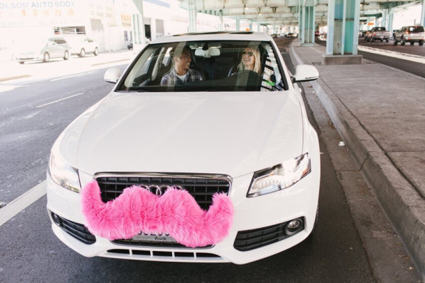 Lyft, a ridesharing app famous for the big pink mustaches on its drivers' cars, has raised $60 million in funding, led by venture capital firm Andreessen Horowitz.