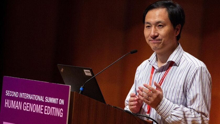 Commentary: Chinese scientist's gene-edited babies have opened