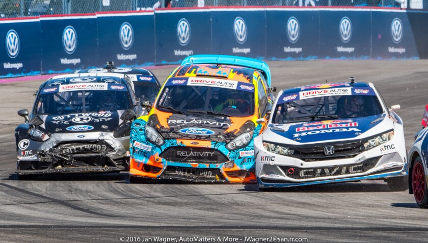 Red Bull GRC is a contact sport