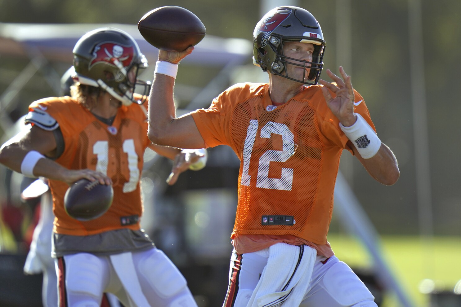 Brady Led Buccaneers Look To End Long Playoff Drought The San Diego Union Tribune