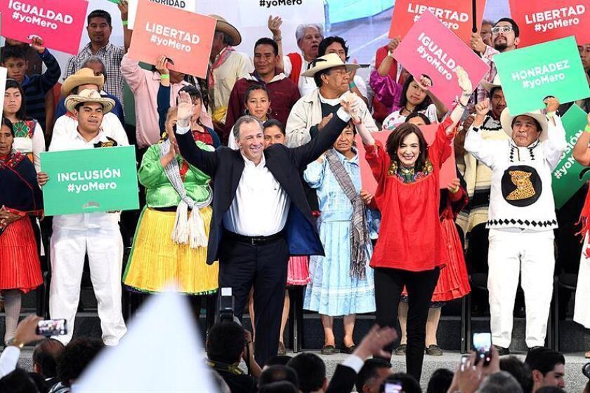 El candidato Meade pide castigo a los corruptos en México sin importar el partido