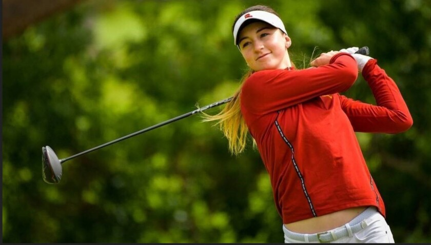 Gabriela Ruffels, who plays at USC, became the first Australian to win the U.S. Women's Amateur title.