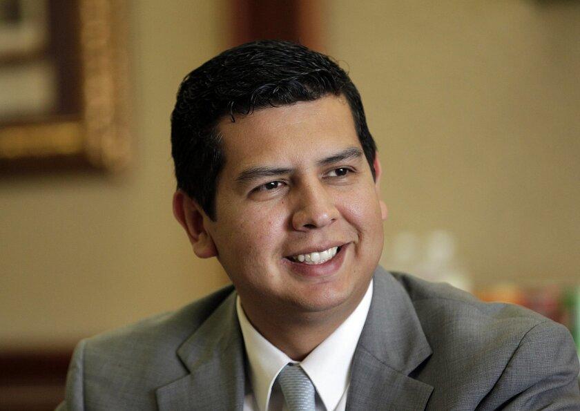 San Diego City Councilman David Alvarez